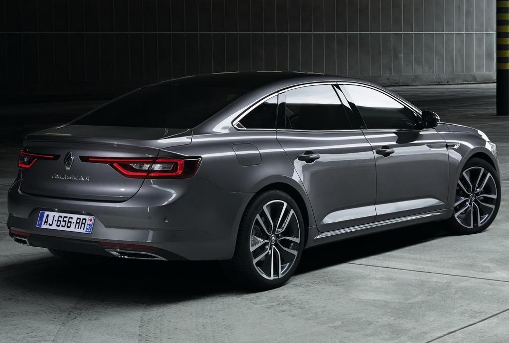 задняя часть Renault Talisman 2016