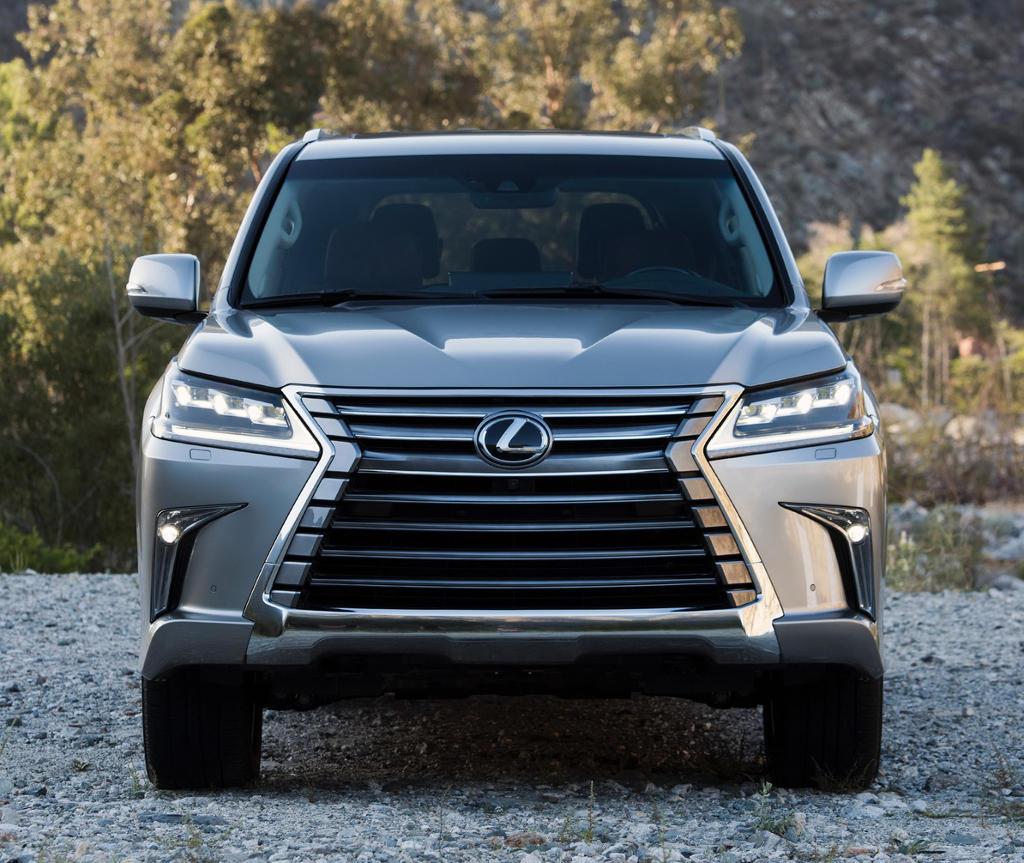 бампер, решетка, фары Lexus LX 570 2021