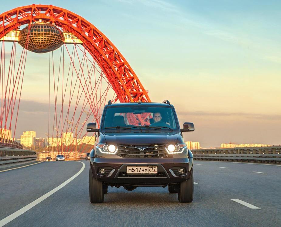 фары, бампер, решетка УАЗ Патриот 2016