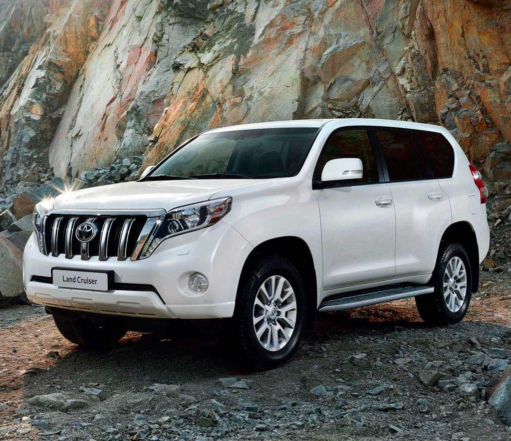 фото Toyota Land Cruiser Prado 150 2016