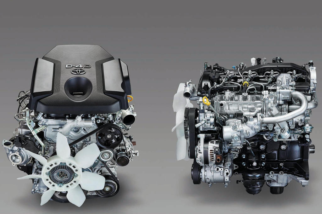новый 2,8-литровый дизель Прадо 150