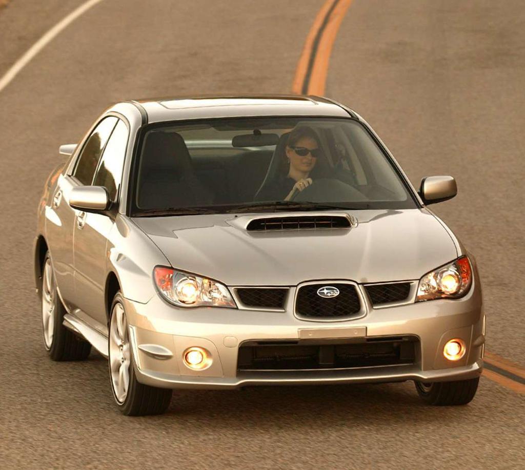 отзывают Subaru Impreza WRX 2006