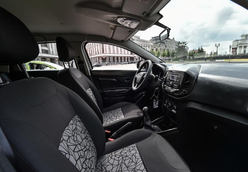 салон Lada XRay фото
