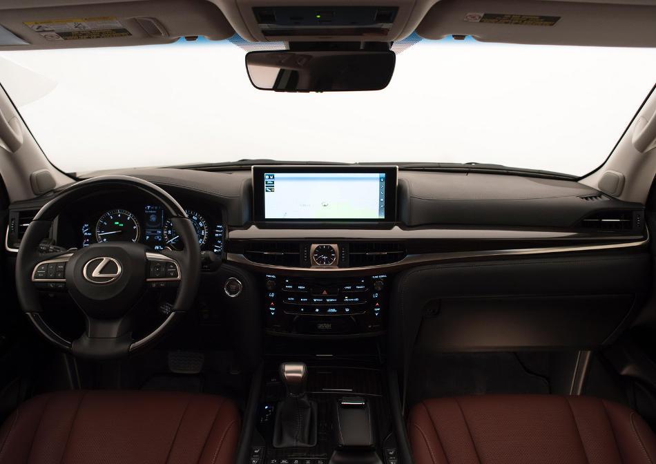 салон Lexus LX 570 2016