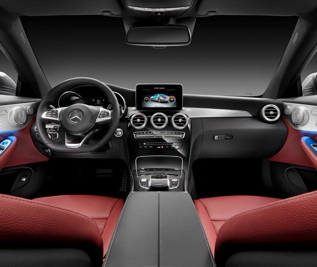 салон Mercedes C-Class Coupe 2016