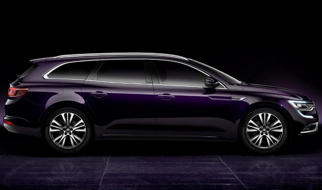 универсал Renault Talisman Estate 2016 сбоку