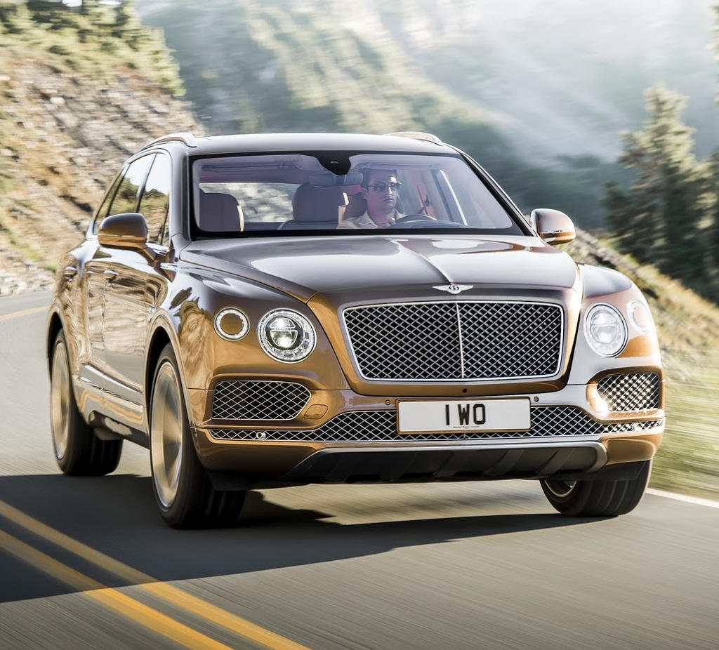 Новый Bentley Bentayga: фото, цена, характеристики, видео Бентайга