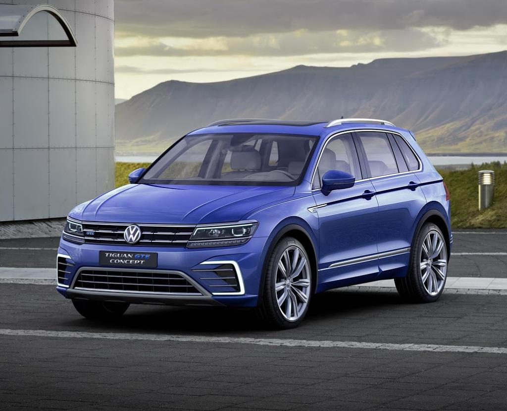 фото Volkswagen Tiguan GTE Concept 2015