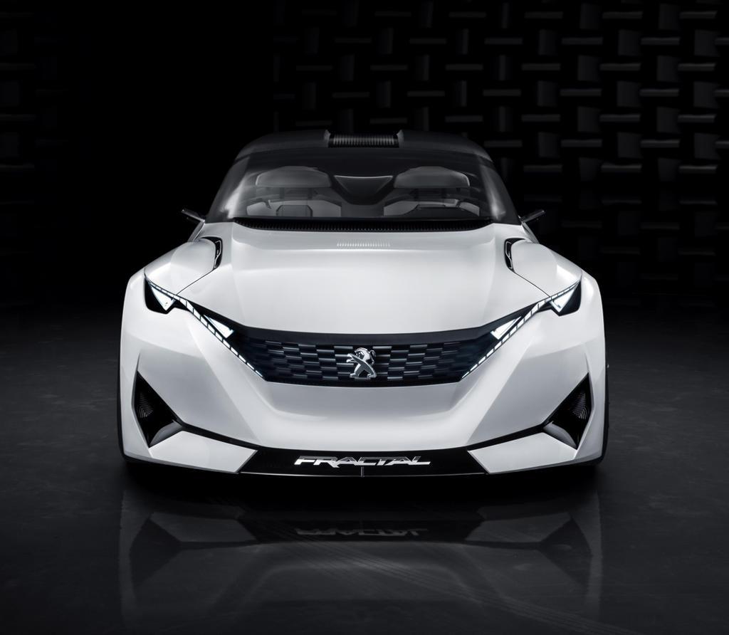 фото концепта Peugeot Fractal