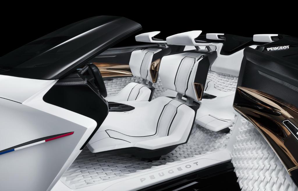 интерьер Peugeot Fractal