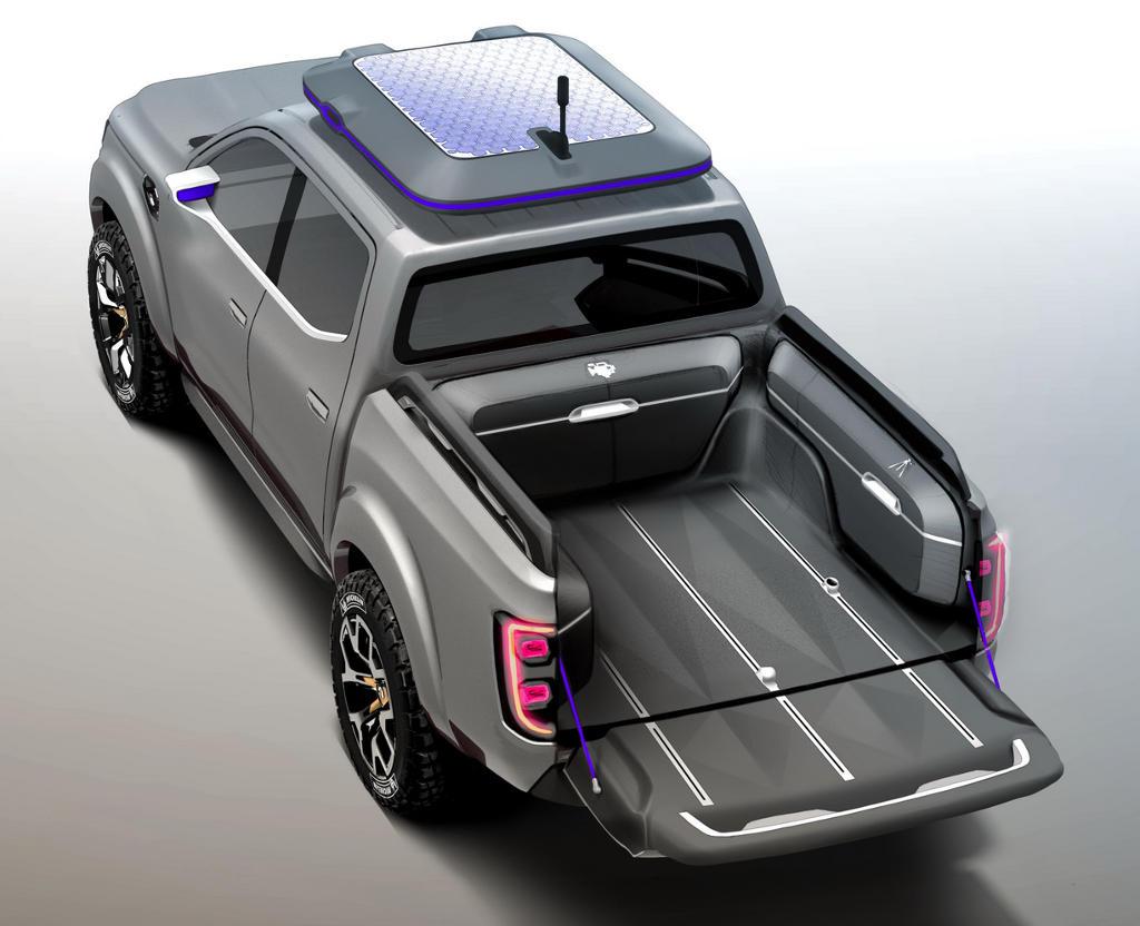 концепт Renault Alaskan 2015 сверху
