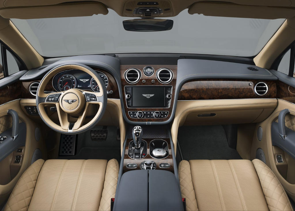 салон Bentley Bentayga
