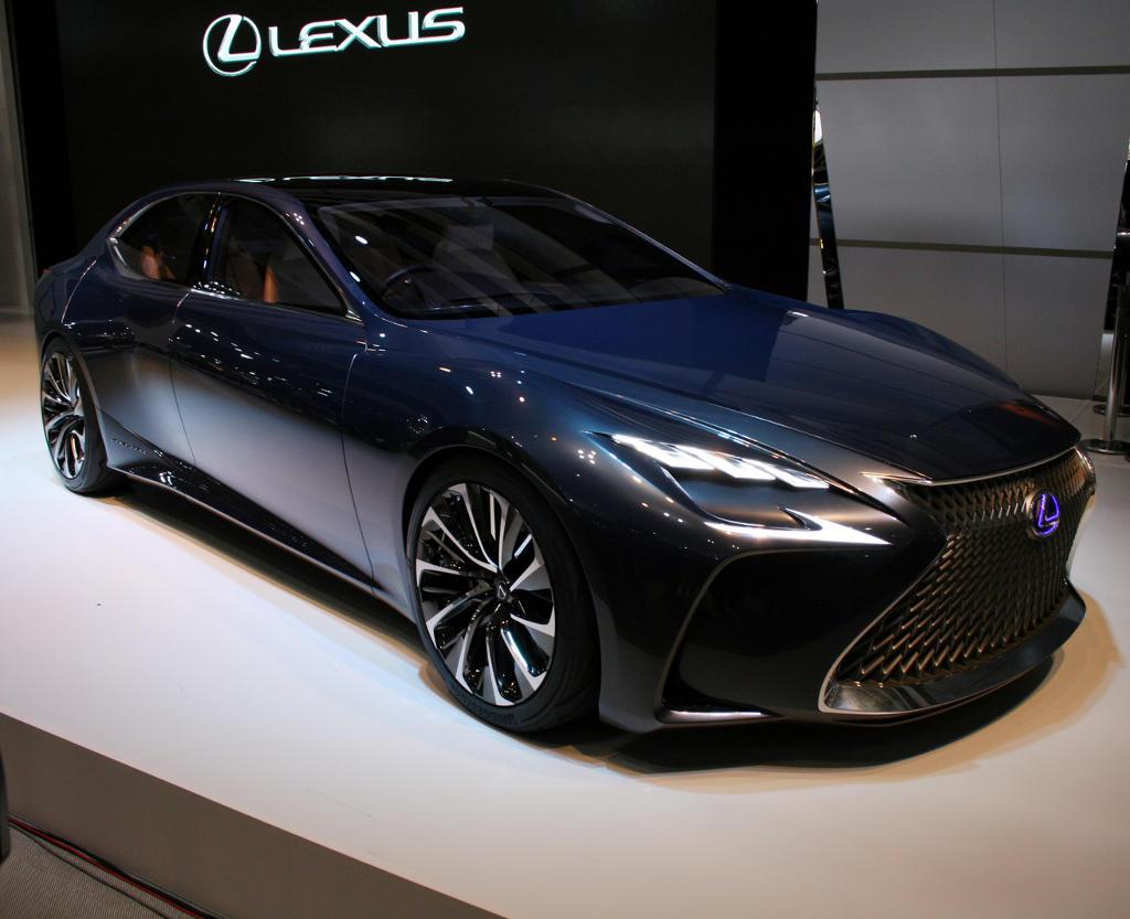 фото Lexus LF-FC 2015
