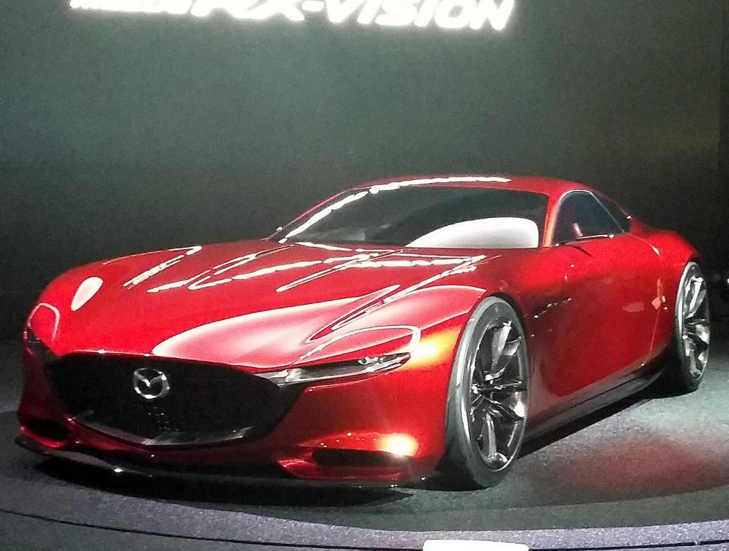 фото Mazda RX-Vision 2015