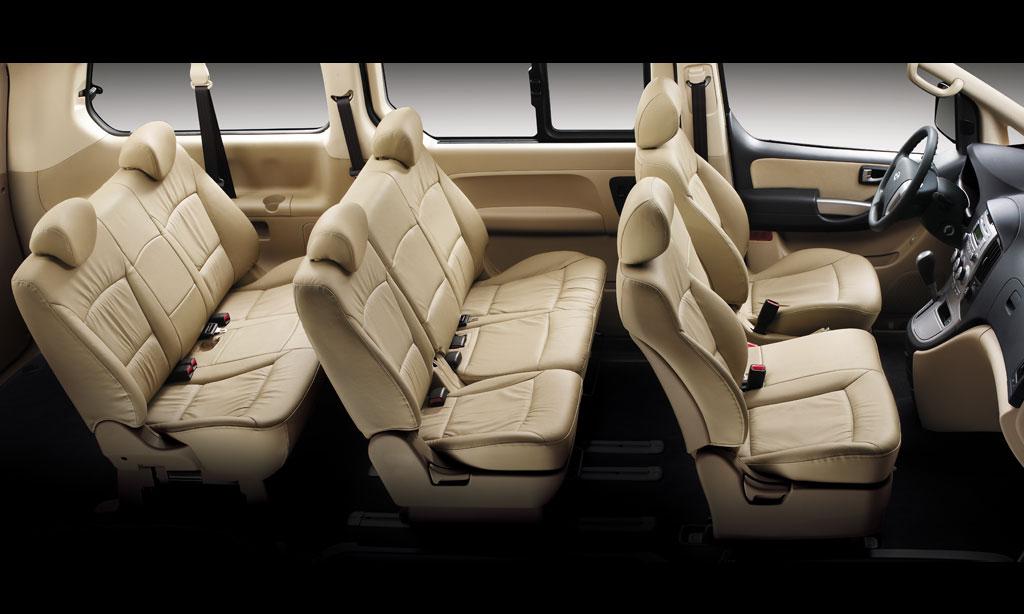 интерьер Hyundai H-1 2015-2016