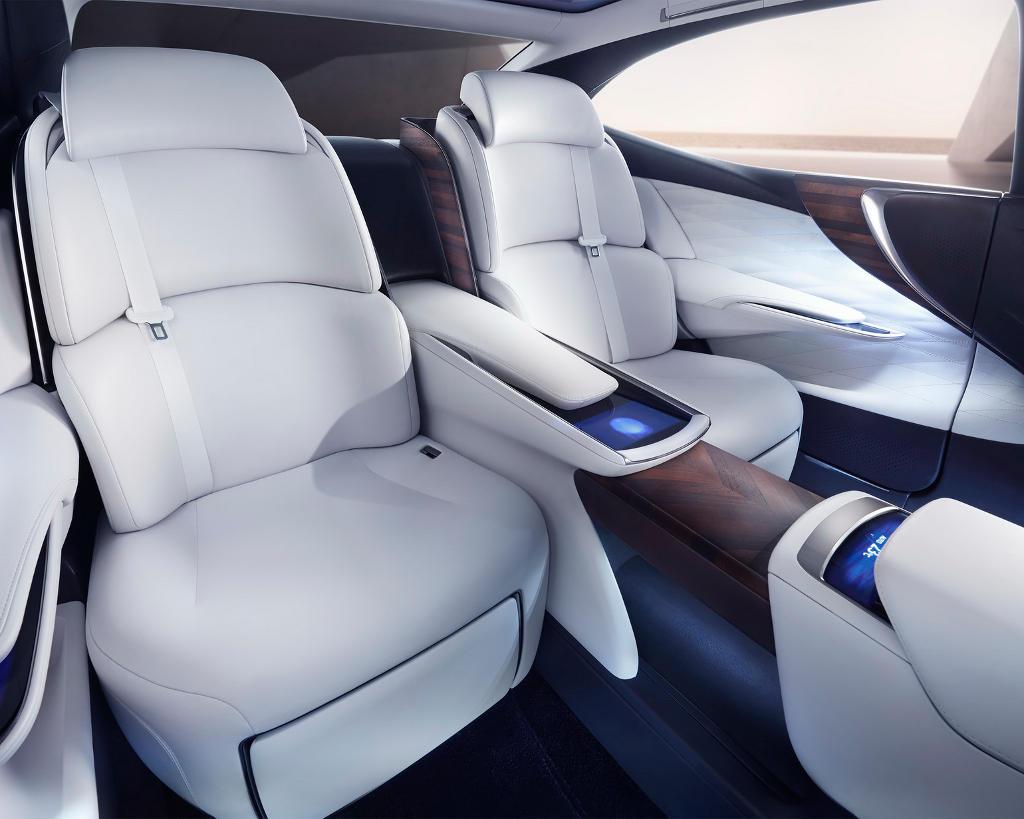 интерьер Lexus LF-FC 2015