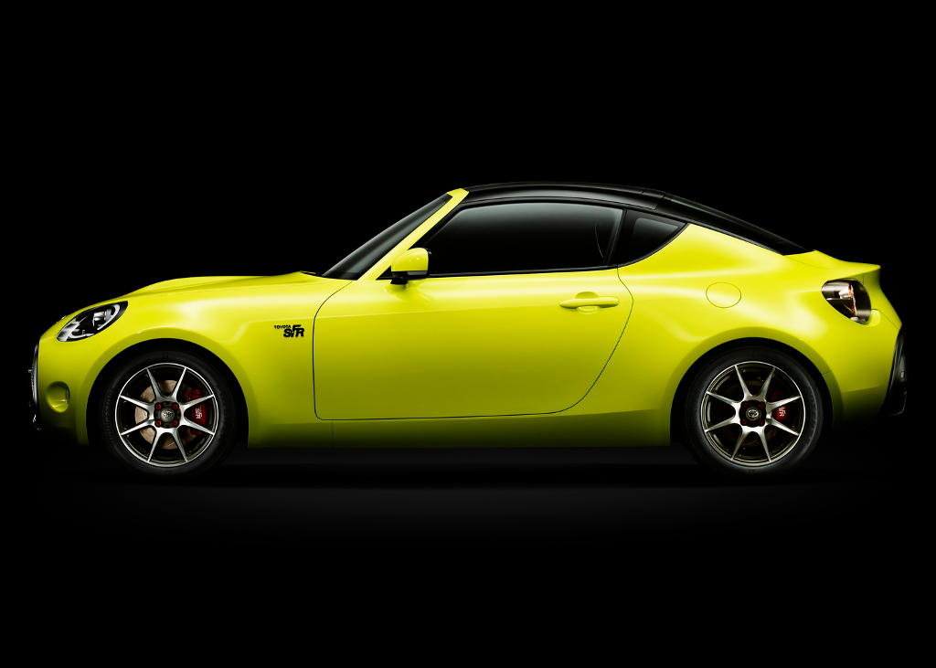 концепт Toyota S-FR 2015 сбоку