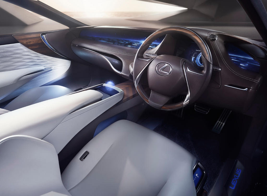 салон Lexus LF-FC 2015