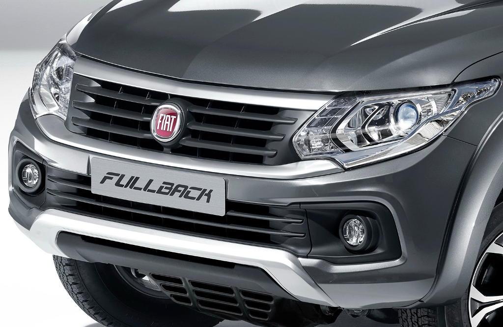 фары, решетка, бампер Fiat Fullback