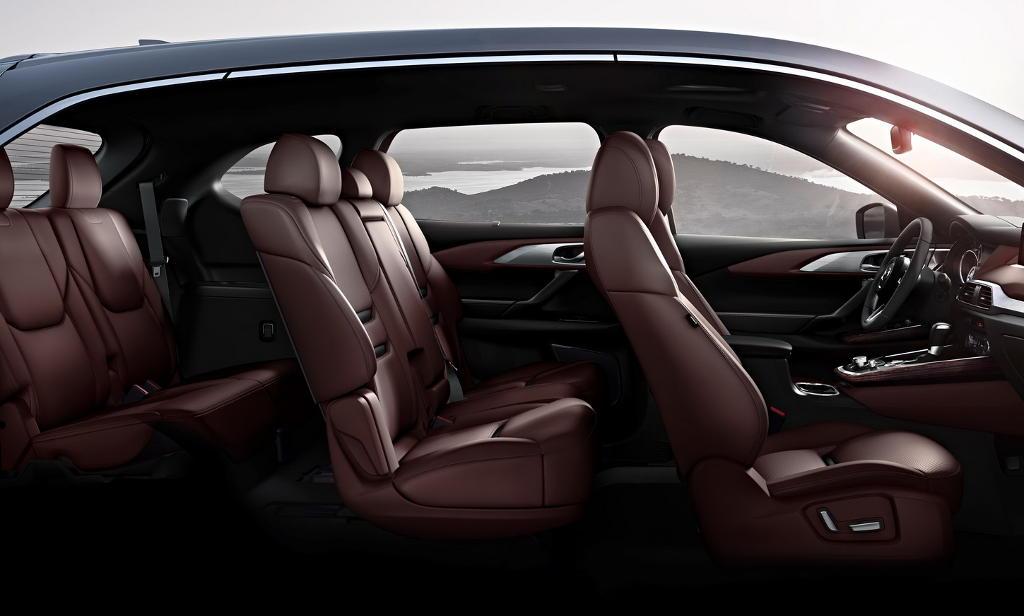 интерьер Mazda CX-9 2018