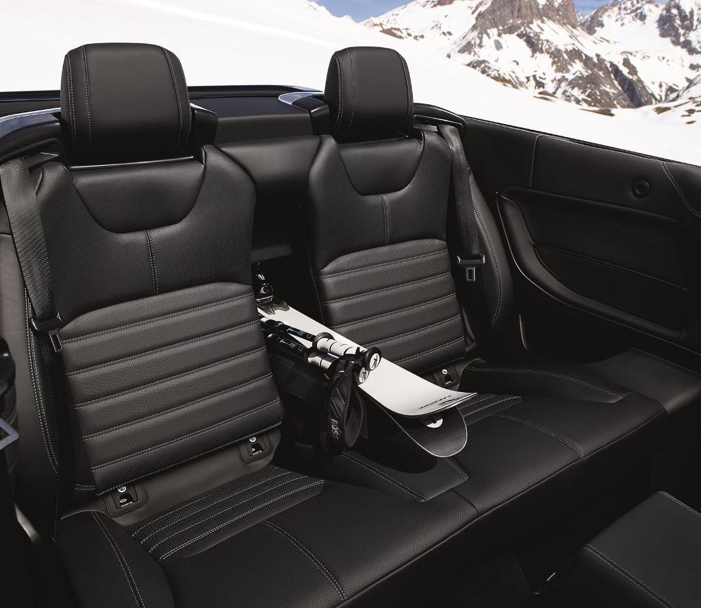 интерьер Range Rover Evoque Convertible 2016