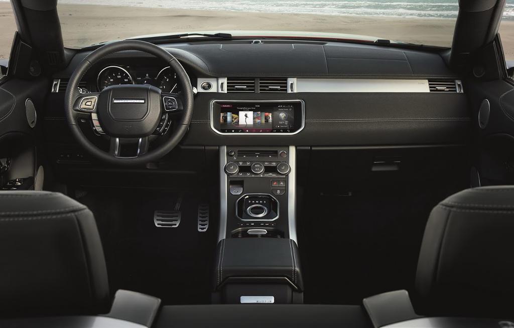 салон Range Rover Evoque Кабриолет 2016