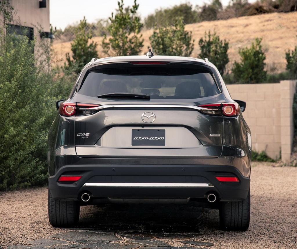 задние фонари Mazda CX-9 2016