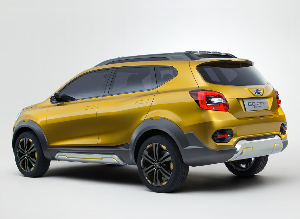 задняя часть Datsun GO-cross 2015