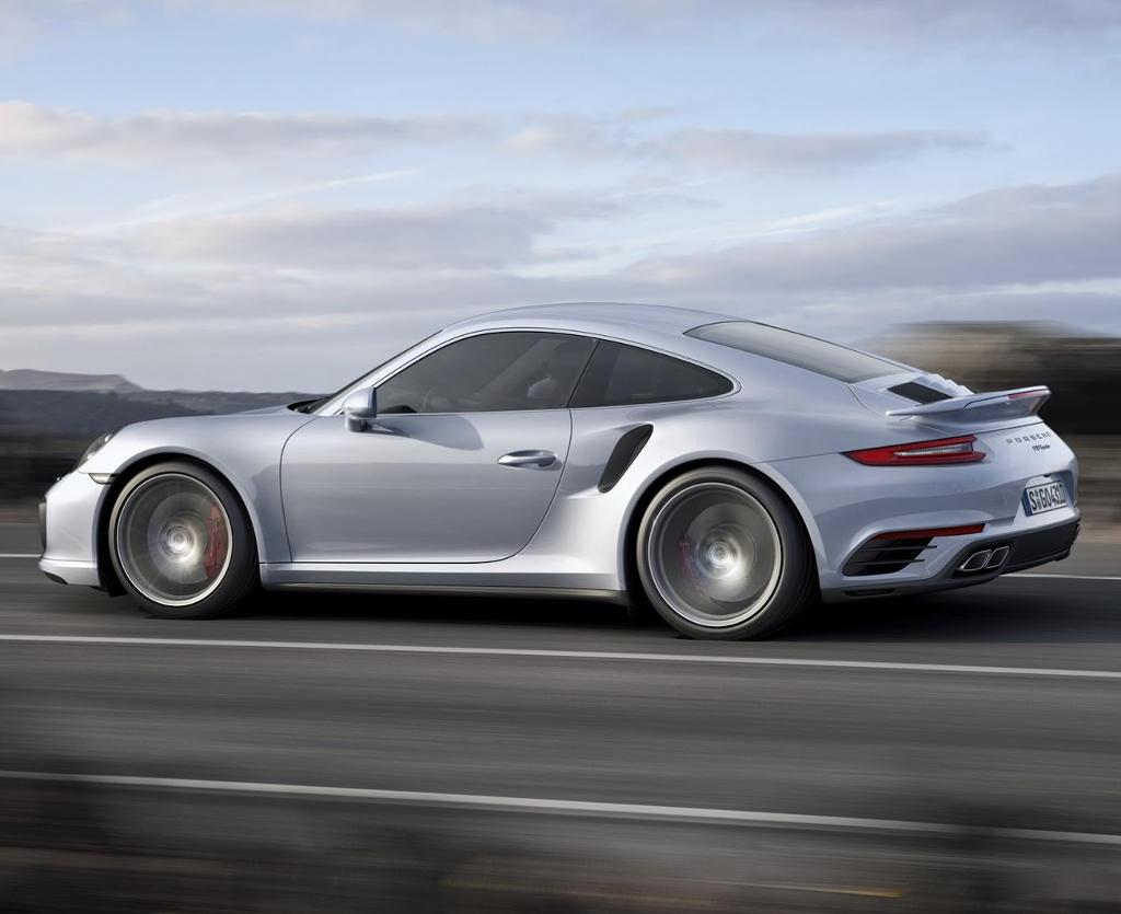 диски Порше 911 Turbo 2016