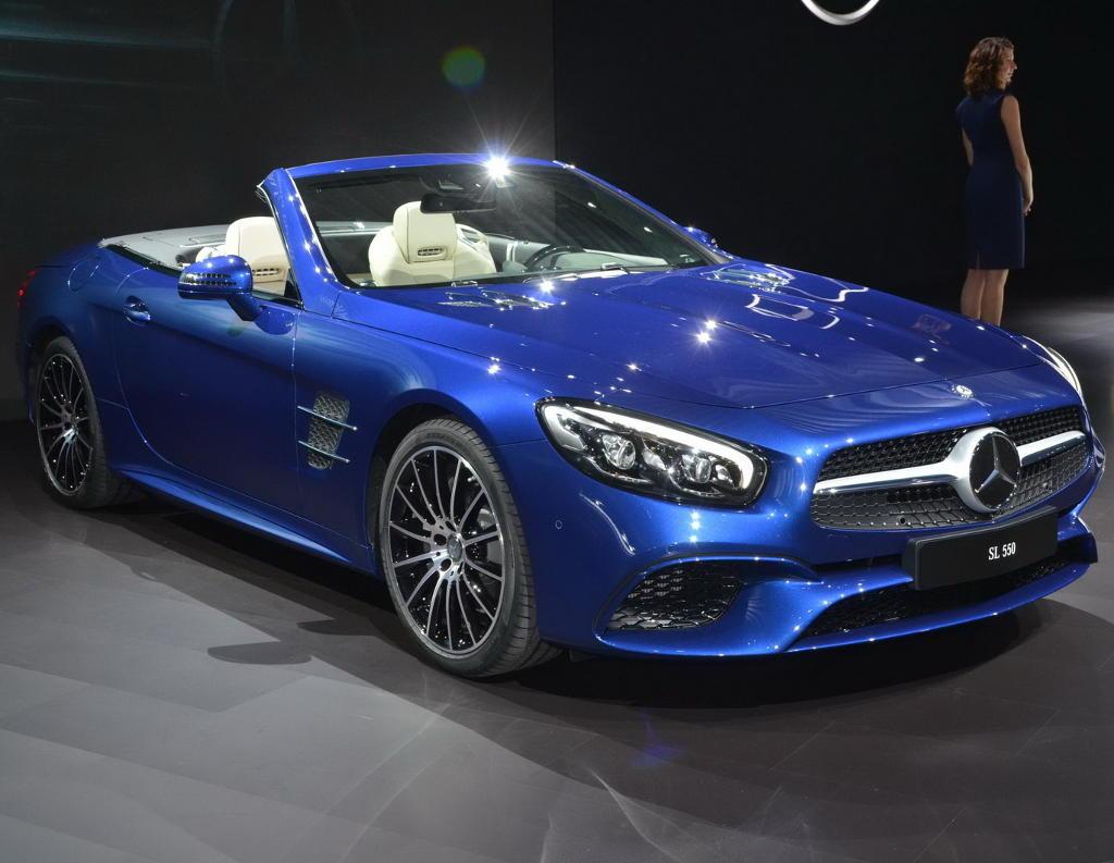 Новый Mercedes SL-Class 2017–2017: цена, фото, характеристики, видео SL