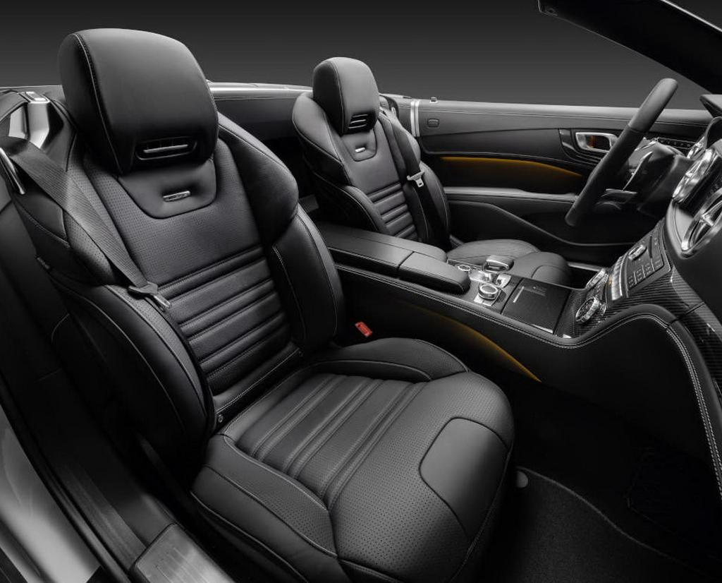 интерьер Mercedes-Benz SL-Class 2016