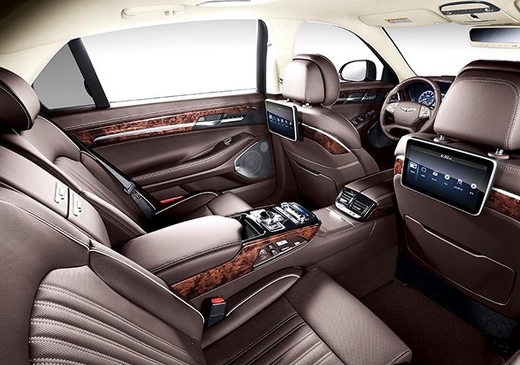 салон Hyundai Genesis G90 2016