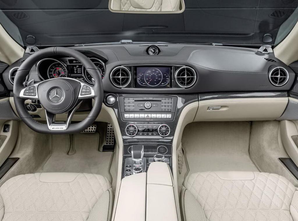 салон Mercedes SL-Class 2016
