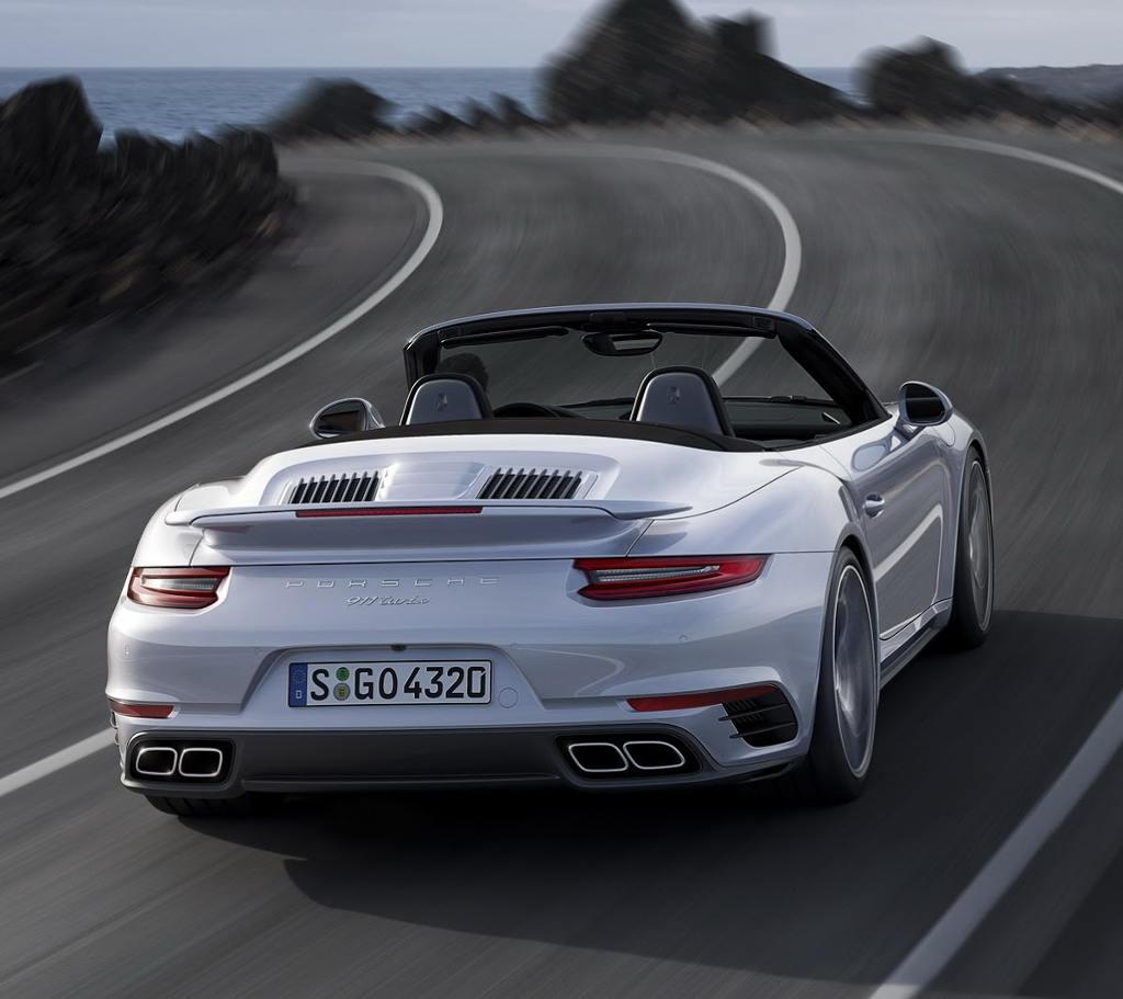 задняе фонари Porsche 911 Turbo 2016