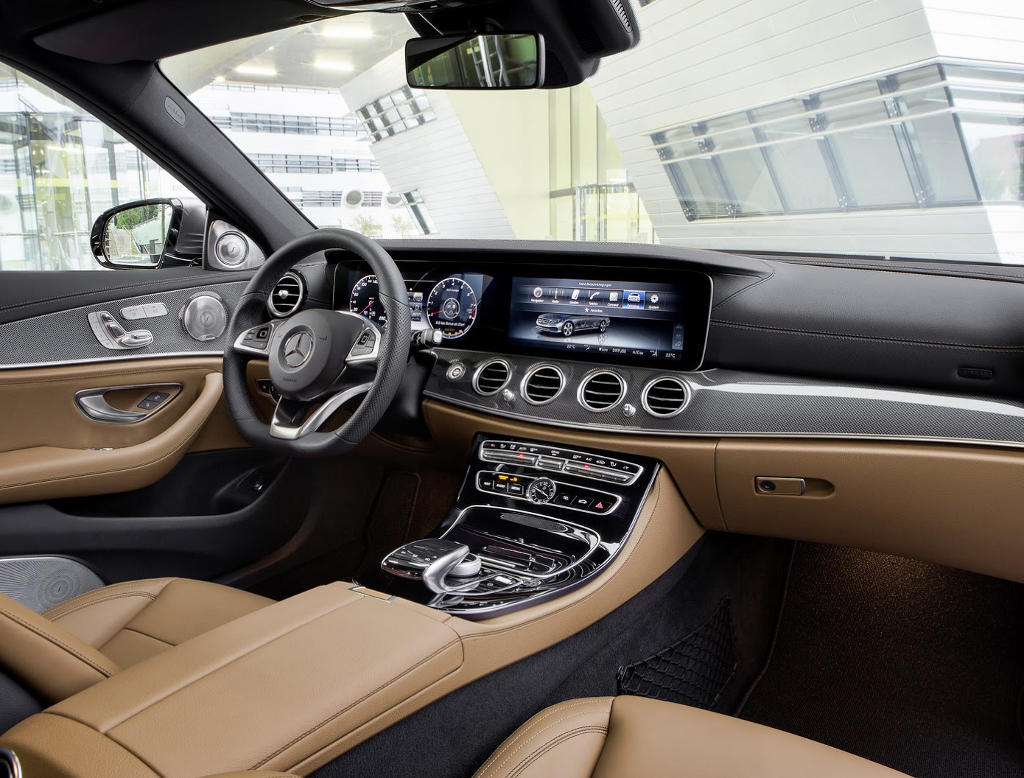 салон Mercedes E-Class (W213) 2016