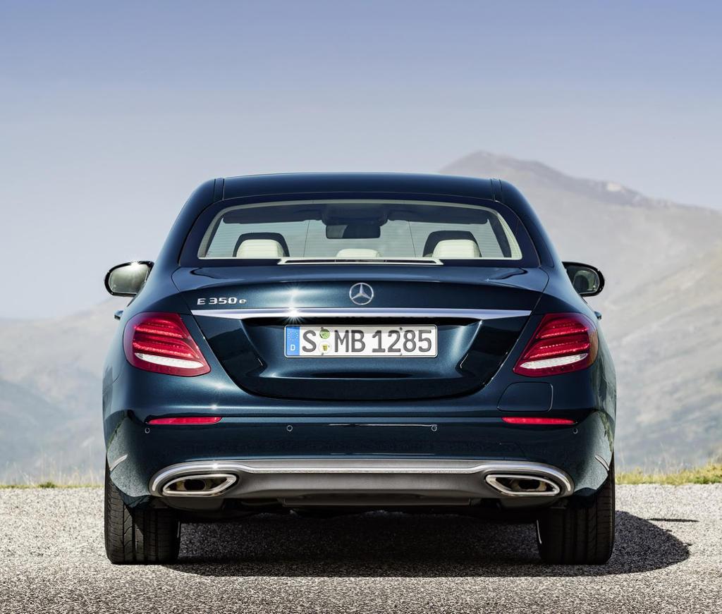 задние фонари Mercedes E-Class (W213) 2016