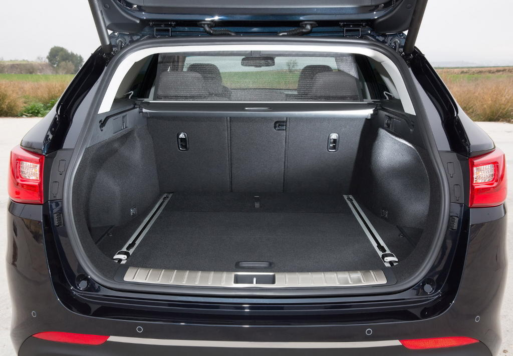 Багажник Kia Optima Sportswagon 2016–2017