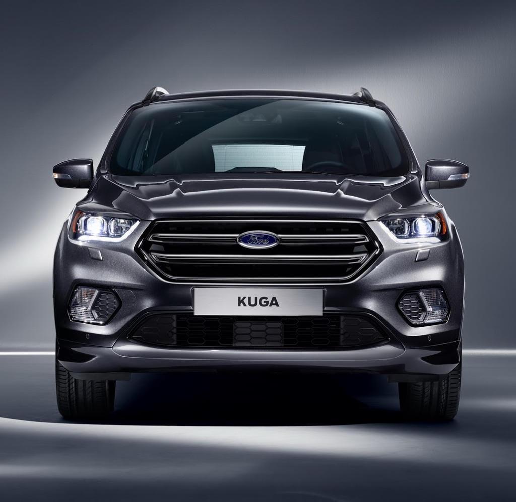 фары, решетка, бампер Ford Kuga 2016
