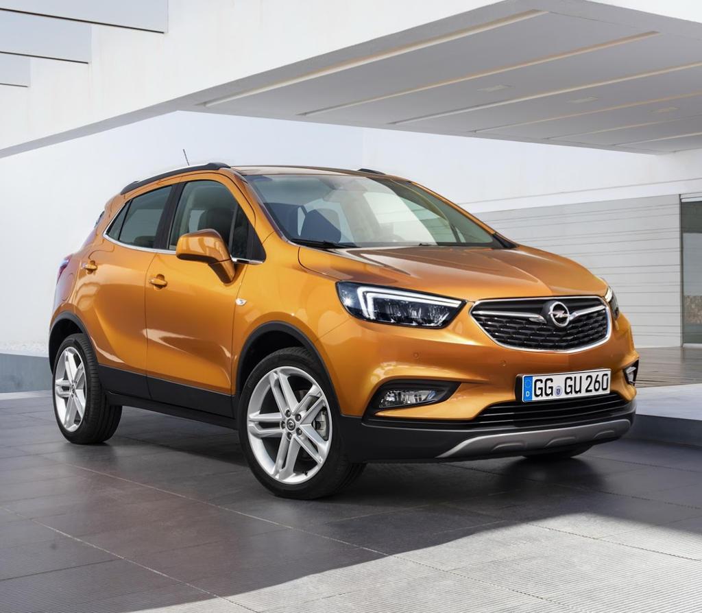 фото Opel Mokka X 2016