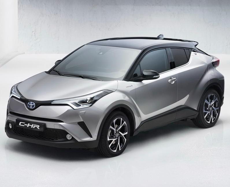 фото Toyota C-HR 2016–2017