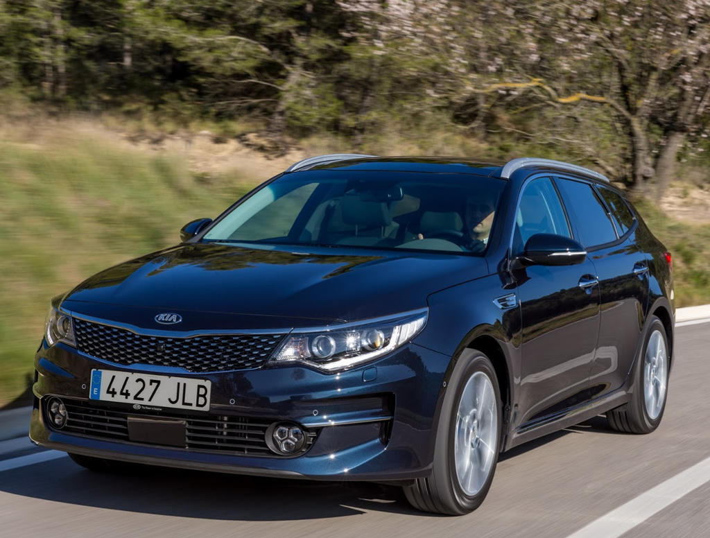 фото универсала Kia Optima Sportswagon 2016–2017