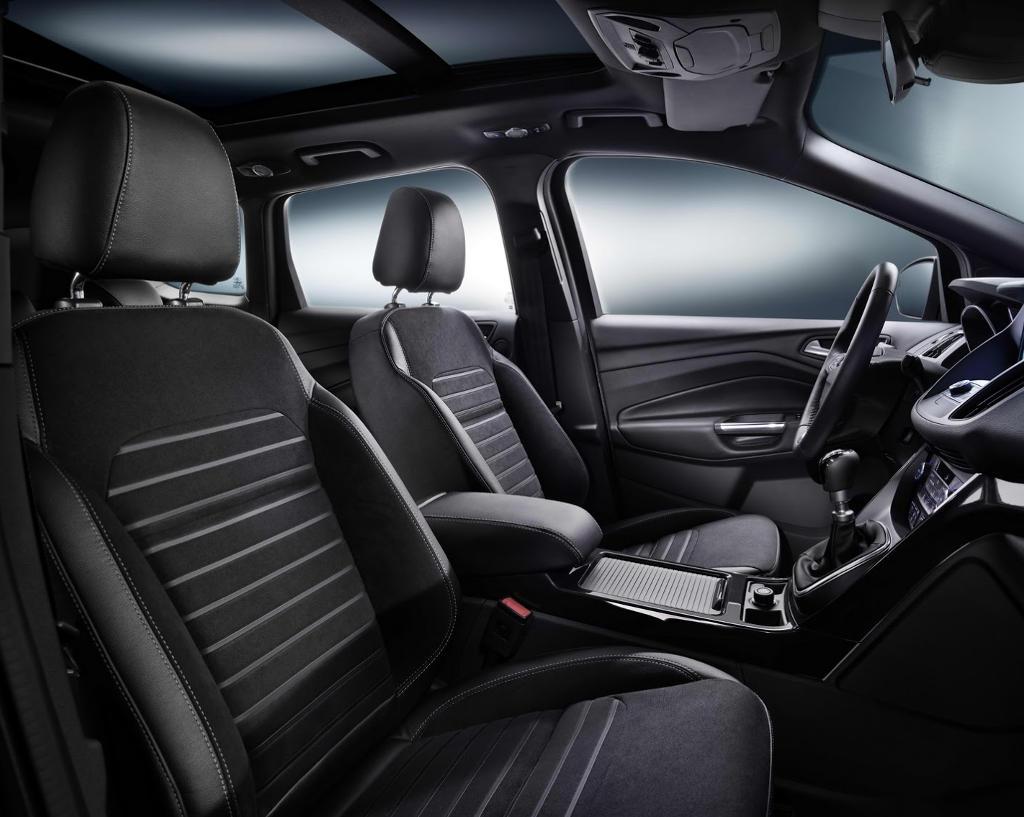 интерьер Ford Kuga 2016