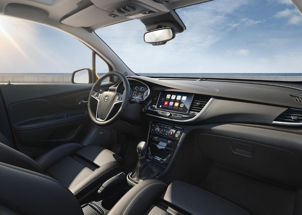 салон Opel Mokka X 2016 фото