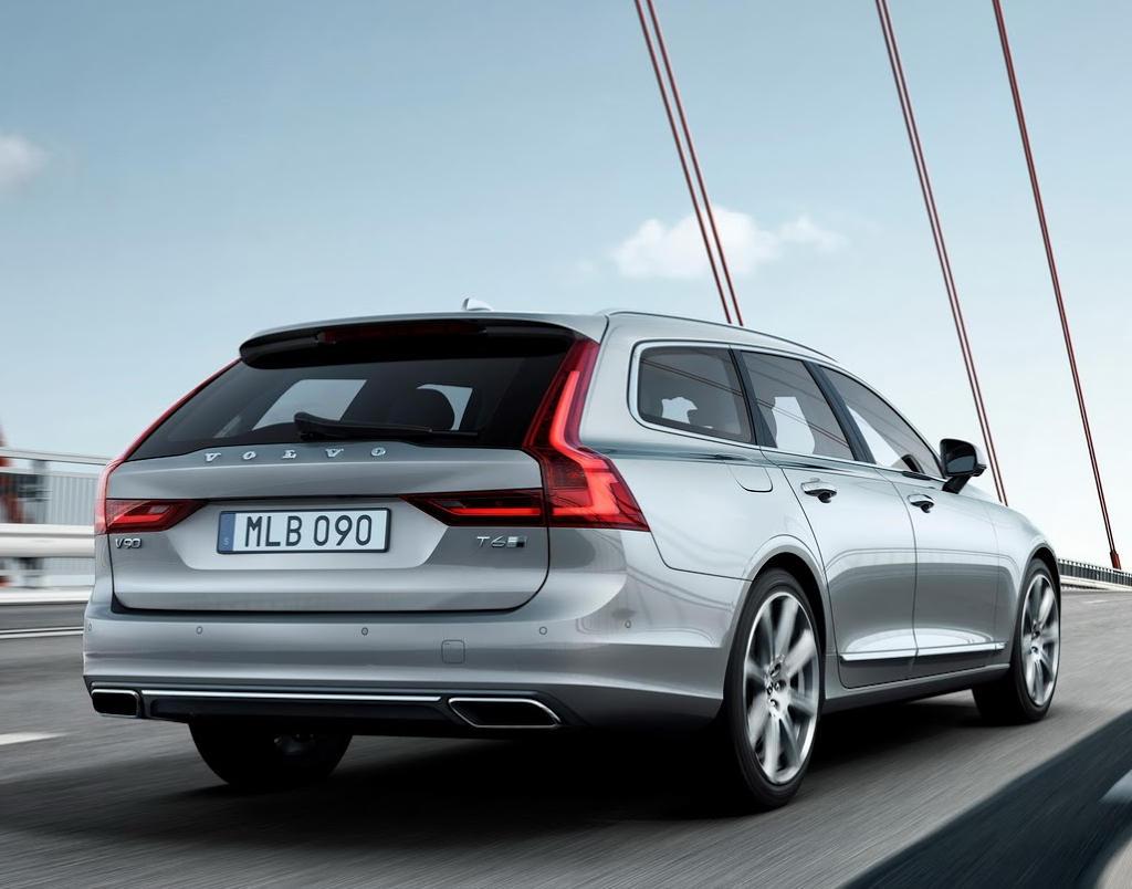 задние фонари Volvo V90 Estate 2016