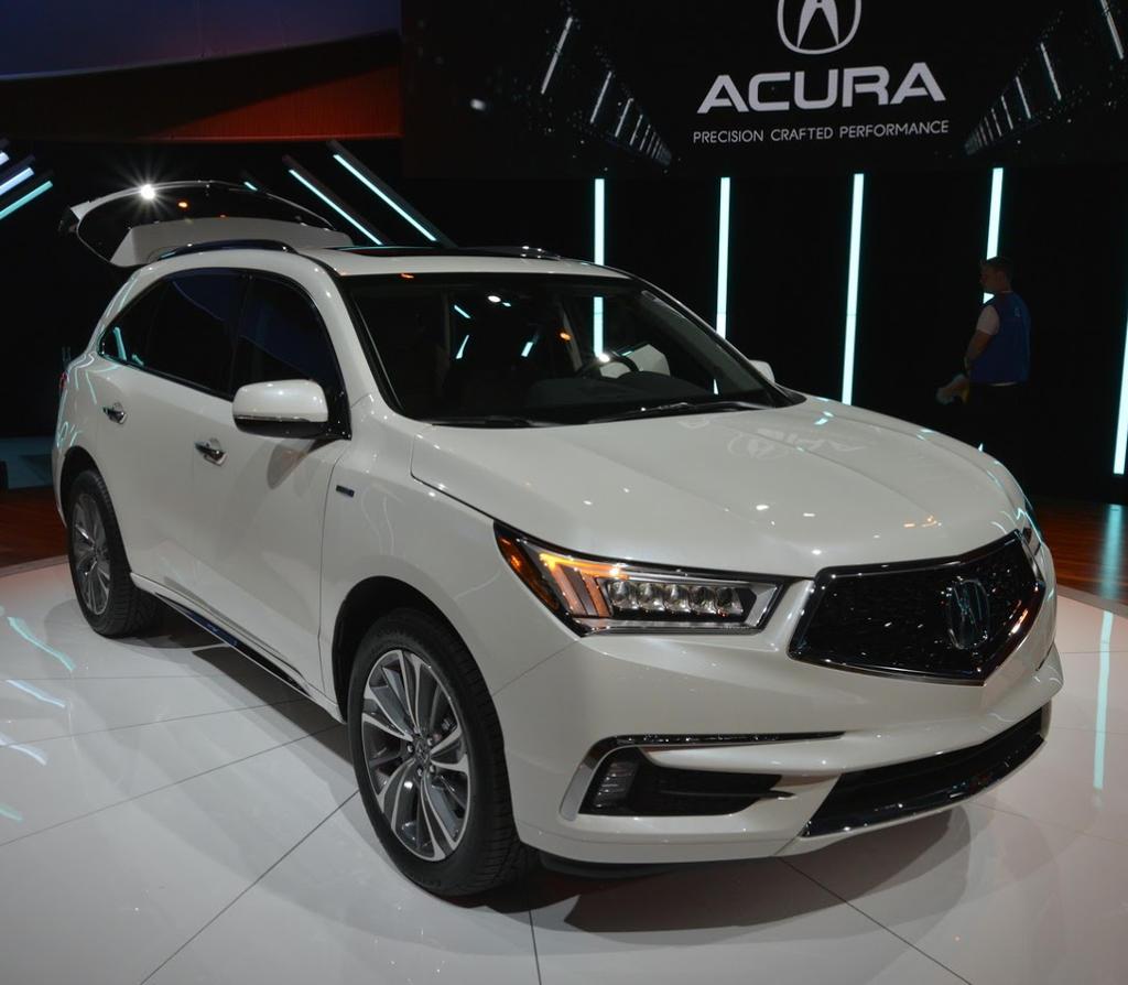Новый Acura MDX 2017: цена, фото, видео, характеристики MDX
