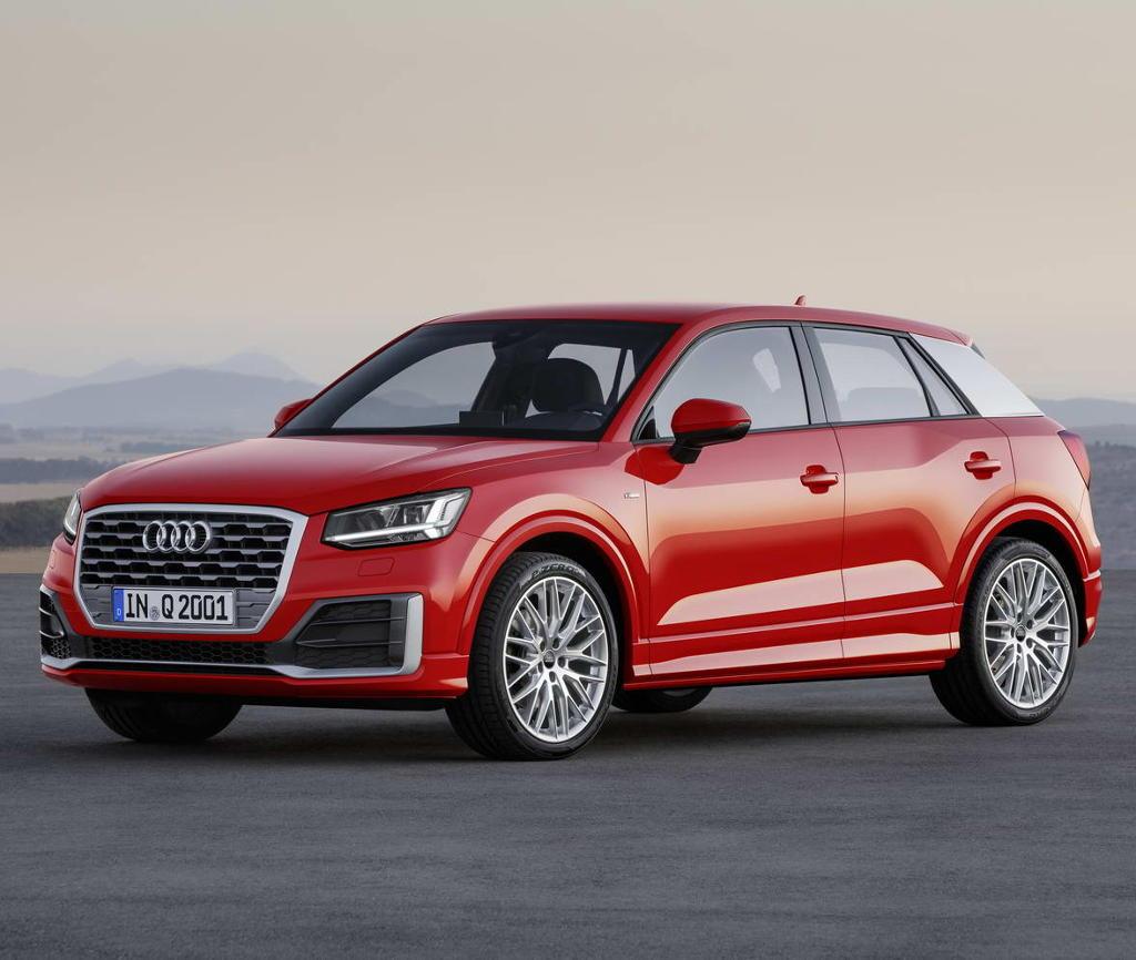 фото Audi Q2 2016–2017