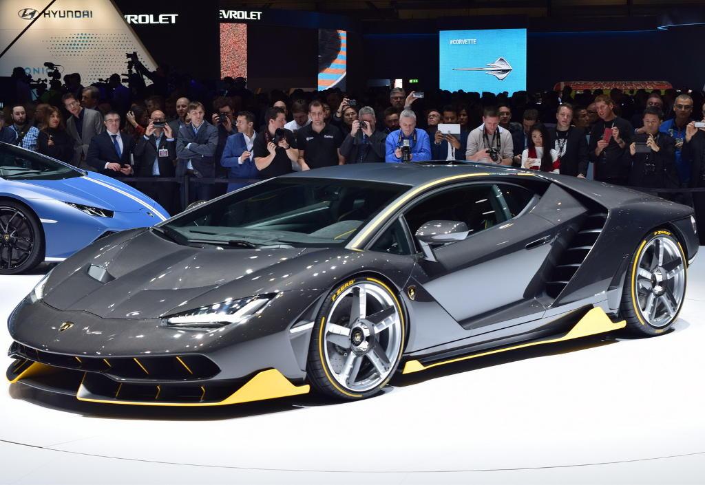 фото Lamborghini Centenario LP770-4 2016-2017