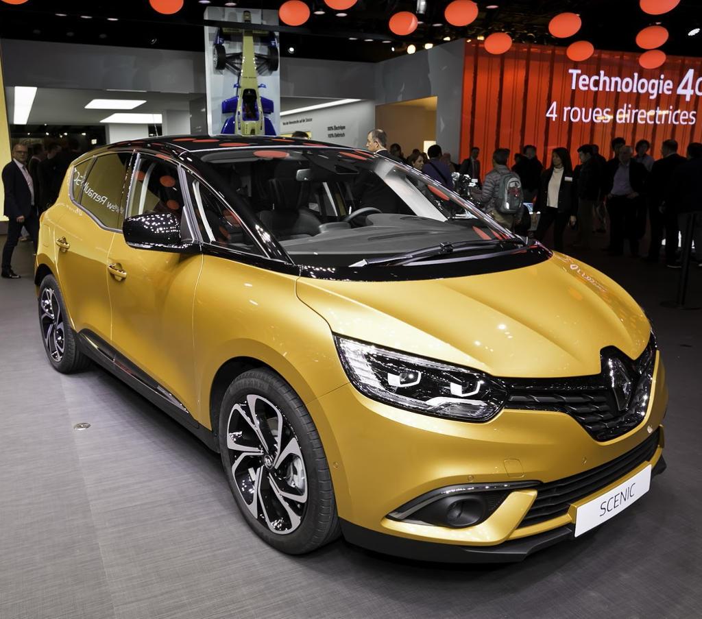 фото Renault Scenic 2016–2017