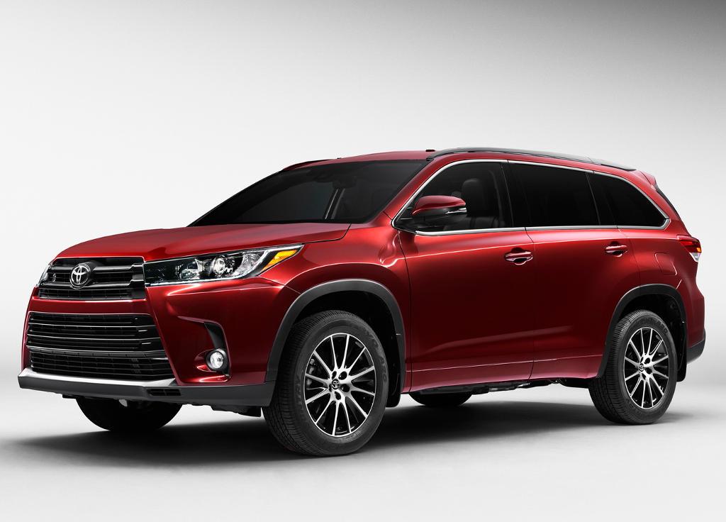 фото нового Toyota Highlander 2017-2018