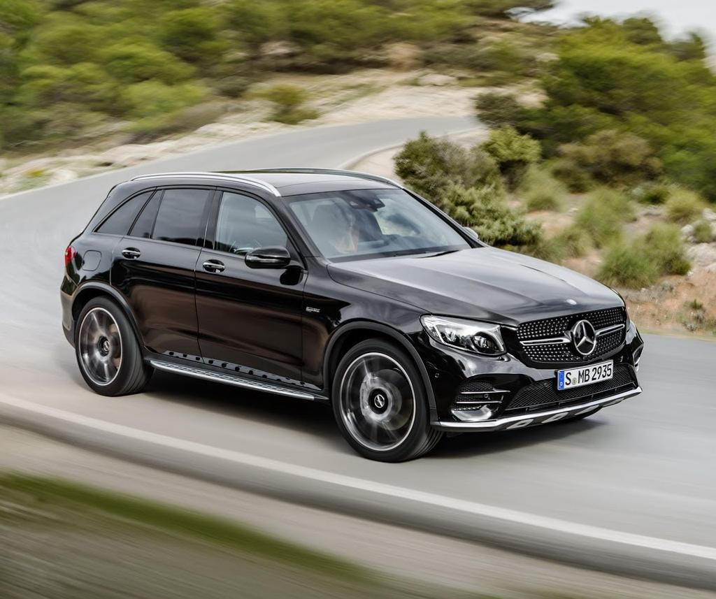 решетка, бампер, фары Mercedes-AMG GLC43 2017